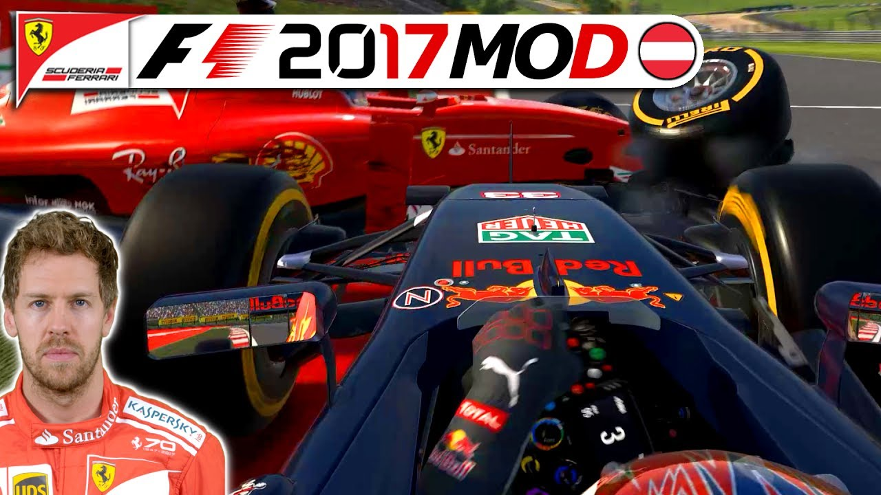 in der letzten runde f1 2017 saison mod german sebastian vettel karriere 9 deutsch youtube. Black Bedroom Furniture Sets. Home Design Ideas