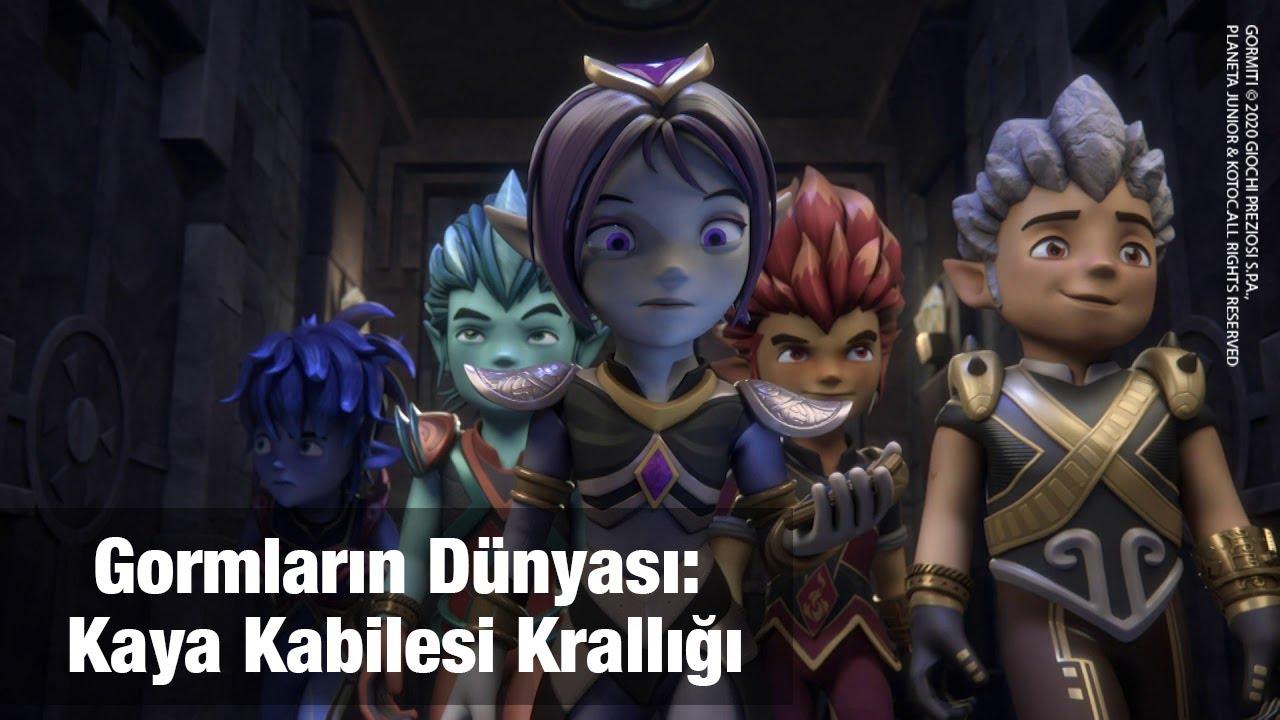 Gormiti Türkçe   Gormlar'ın Dünyası: Kaya Kabilesi Krallığı