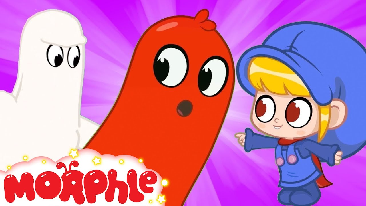 Morphle The GHOST! - My Magic Pet Morphle | Cartoons For Kids | Morphle TV