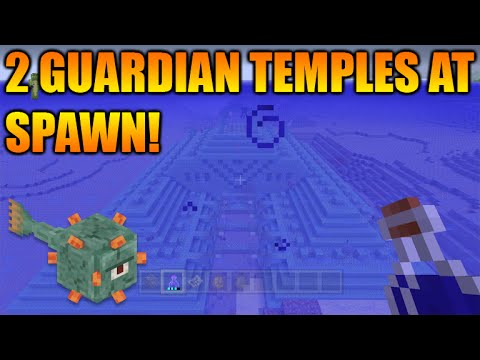 ★Minecraft Xbox 360 + PS3 TU31 Seed: Double Ocean Monument At Spawn + New Biomes★