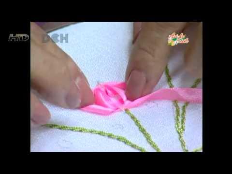 Camino de mesa floral  YouTube