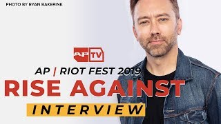Rise Against On How Music is More Impactful Than...Your Parents?, Powerful Fan Interactions | AP