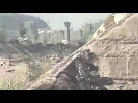 Playing call of duty ghosts story pt1