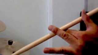 """Como girar las baquetas Técnica """"ROBIN"""" Parte II (La forma Difícil)"""