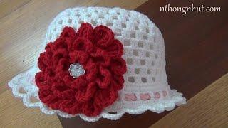 Hướng dẫn cách móc nón len nữ