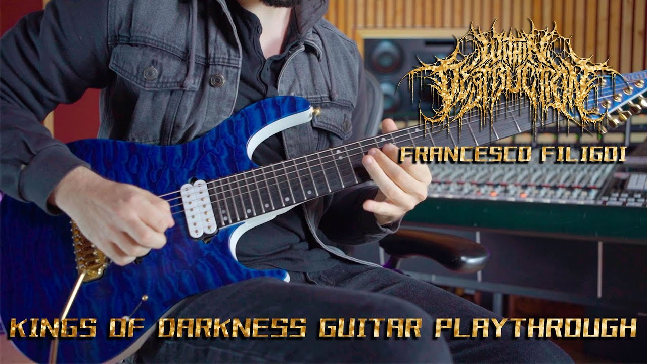 WITHIN DESTRUCTION - KINGS OF DARKNESS (GUITAR PLAYTHROUGH)