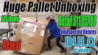 Download Huge Pallet Unboxing Retail $11,057.00 - 145 Items From Bulq.com Uninspected Returns Mp3 and Videos