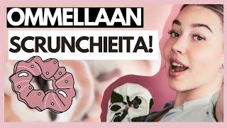 OMMELLAAN SCRUNCHIEITA | Nelli Orell ♡