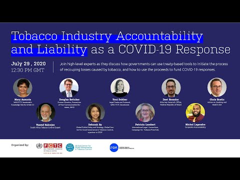 WEBINAR - Tobacco Industry and Corruption (May 6, 2021)