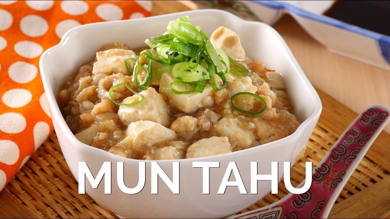 Resep Cara Membuat Mun Tahu Masakan Cina