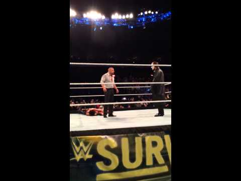 Stings WWE debut live