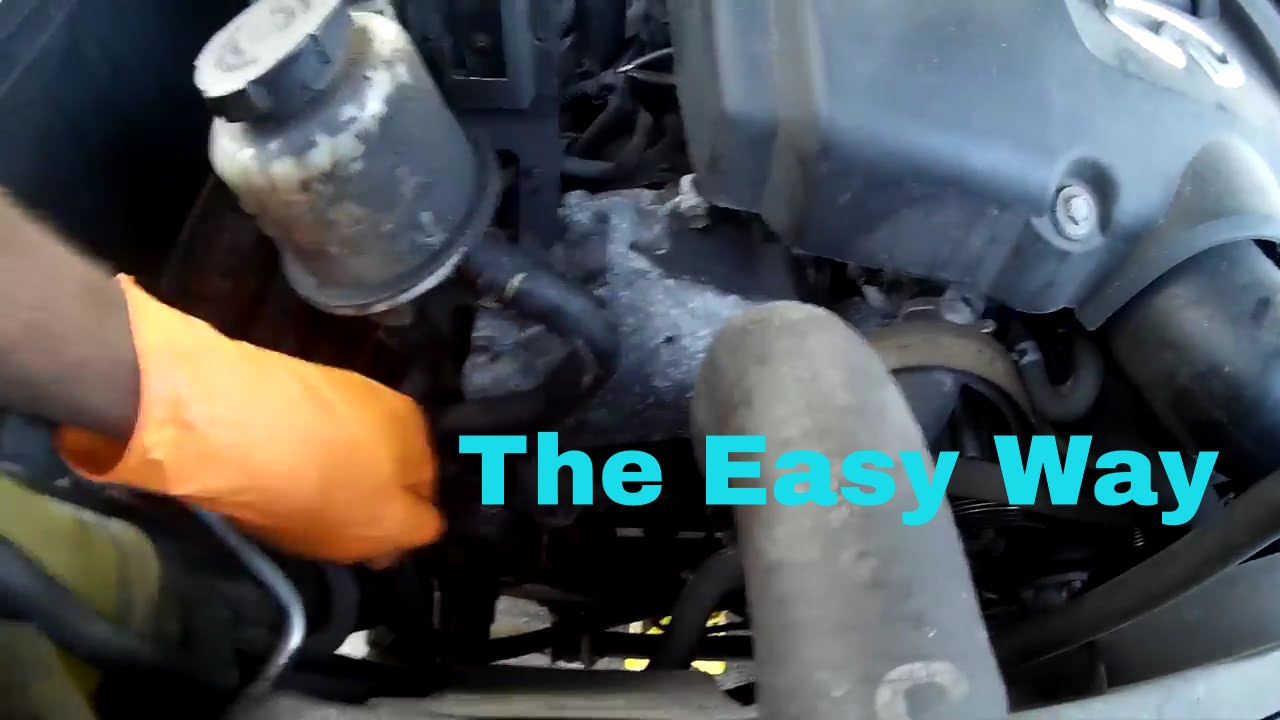 Infiniti QX56 Alternator Removal Pt2 in 1080p  YouTube