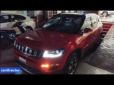 Jeep Compass Limited Plus 2018 | Compass 2018 Limited Plus| Interior and Exterior | Real-life review