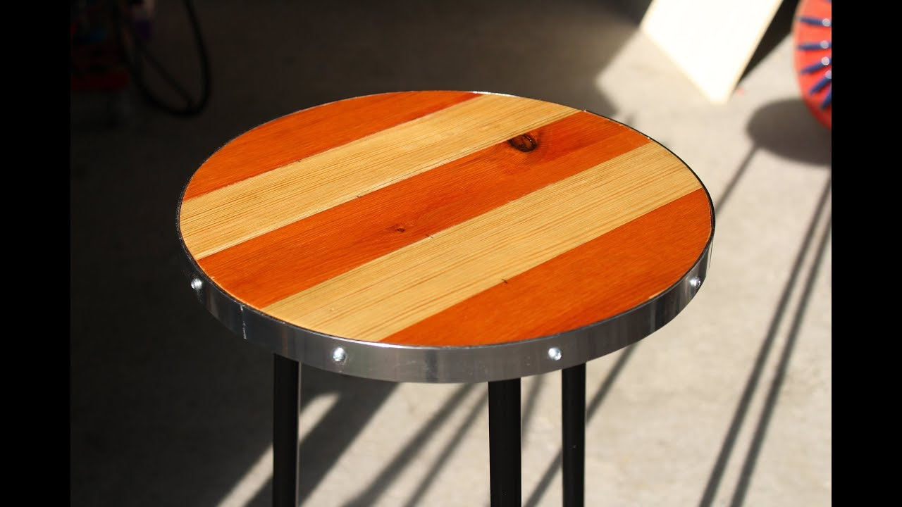 Sgabello In Legno Fai Da Te : Sgabello fai da te homemade stool youtube