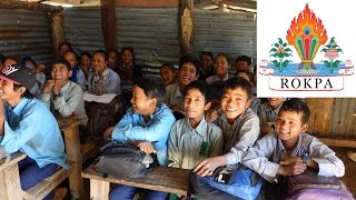 ROKPA builds a School for earthquake victims in a remote area of Nepal!