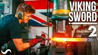 MAKING A VIKING SWORD!!! Part 2