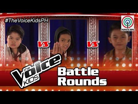 """The Voice Kids Philippines Battle Rounds 2016: """"Doo Bidoo"""" by Miguel, Arnie & Bernard"""