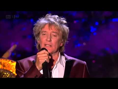 Rod Stewart - White Christmas - with Nicola Benedetti (live) (HD ...