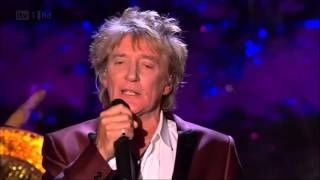 Rod Stewart - White Christmas - with Nicola Benedetti (live) (HD)