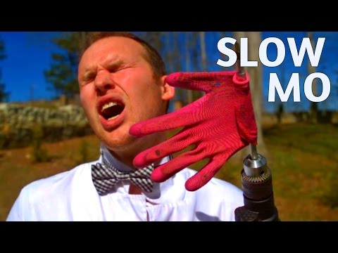 Slap Machine Challenge - Slow Mo Lab