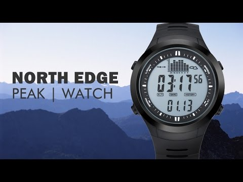 NORTH EDGE watch  with altimeter barometer thermometer and weather forecast