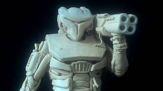 Dune 2020 Силовая Броня , Тяжелый пехотинец из пластилина