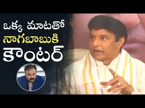 Balakrishna Reacts On Nagababu Comments   NTR Kathanayakudu   Manastars