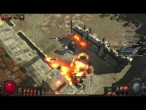 Path of Exile: Fall of Oriath BETA - Flame Totem Chieftain - Ep 14