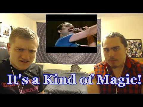 """College Students' FIRST TIME Hearing """"It's a Kind of Magic"""" 
