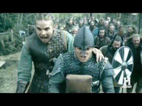 Vikings Episode 5x01 & 5x02 Ragnar Army Attacks Town Of York || Vikings Scenes