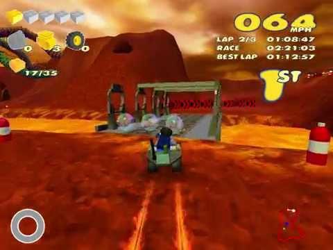 Lego Racers 2 speedrun (1:23:52)