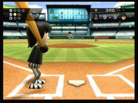 Wii Sports Baseball Youtube