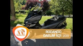 Daelim XQ1 2019/ Rodando con / Supermotoronline.com
