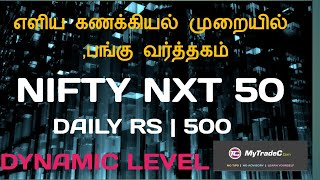 Equity Market Daily Profit 500 RS | IN TAMIL Education | MyTradeC.Com | L.R.