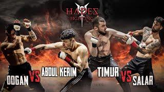 Timur Baloev vs. Salar Danainejad | Abdul-Kerim Madaev vs. Dogan Algin - HADES FIGHTING 1 - RINGLIFE