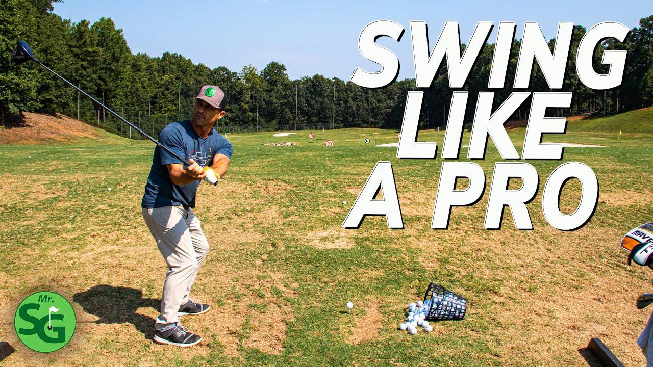 Swing Like a Pro Golfer - 10 Minute Easy Swing Fix