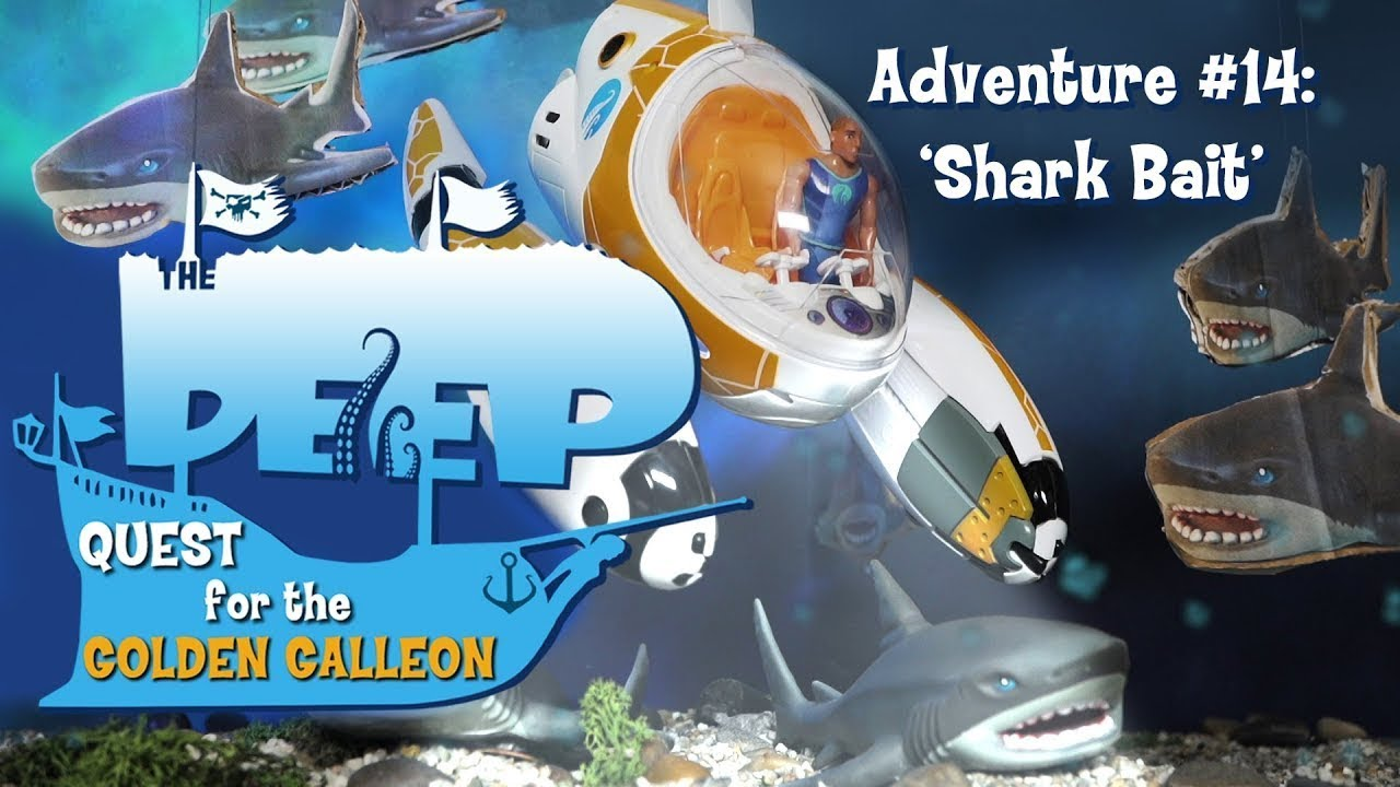 The Deep | Toy Play Adventure: Shark Bait | Sea Adventures | Wildbrain Cartoons