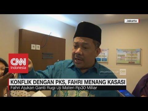 PKS Kalah di MA, Fahri Hamzah Ajukan Ganti Rugi Rp 30 Miliar Mp3