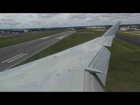American Eagle (Envoy) Bombardier CRJ-700 [N524AE] HEAVY breaking and landing in TUL