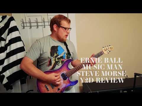 Ernie Ball Music Man Steve Morse Y2D Sig. Guitar Review (2016)