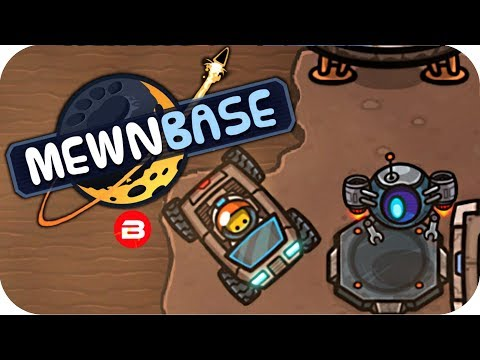 MewnBase - COOL MOON BUGGY & DRONE!! - MewBase Gamplay #4