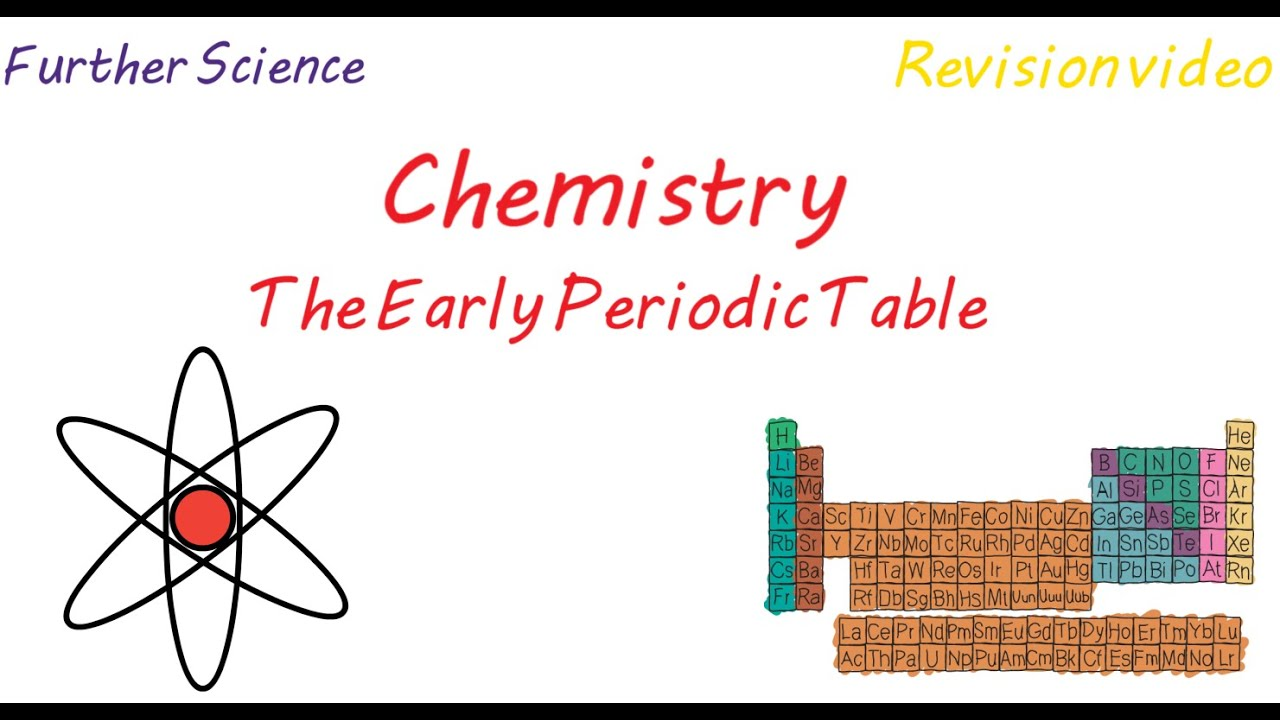 C3 the early periodic table revision youtube c3 the early periodic table revision urtaz Choice Image