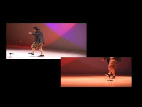 Brett Newton s some of his Tap Dance moves
