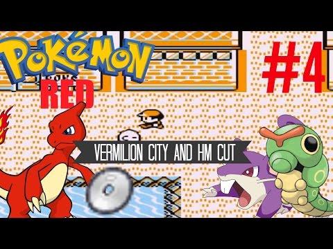 Pokemon Red #4 Vermilion City and HM Cut