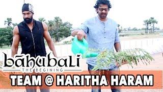 baahubali team participate in harithahaaram prabhas ss rajamouli rana