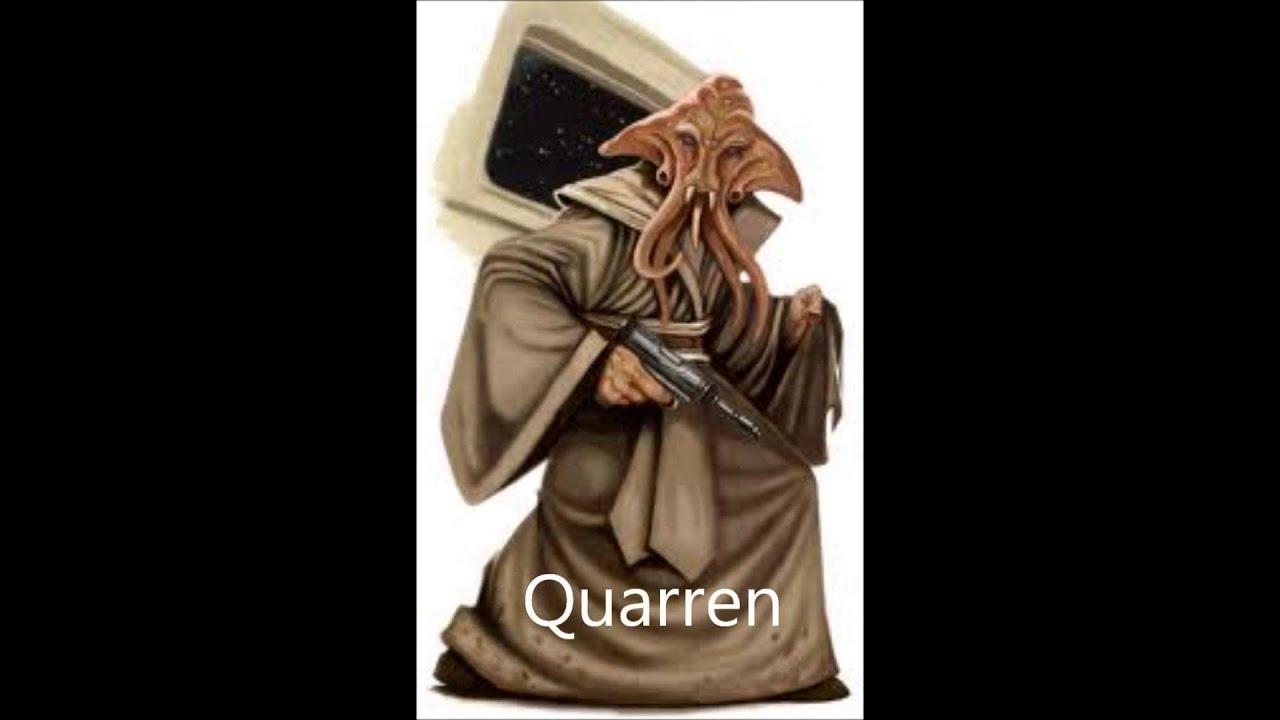 star wars all alien races youtube