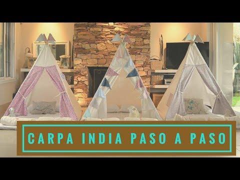 COMO HACER UN TEEPEE O CARPA ESTILO INDIO | Empo | EP. 25