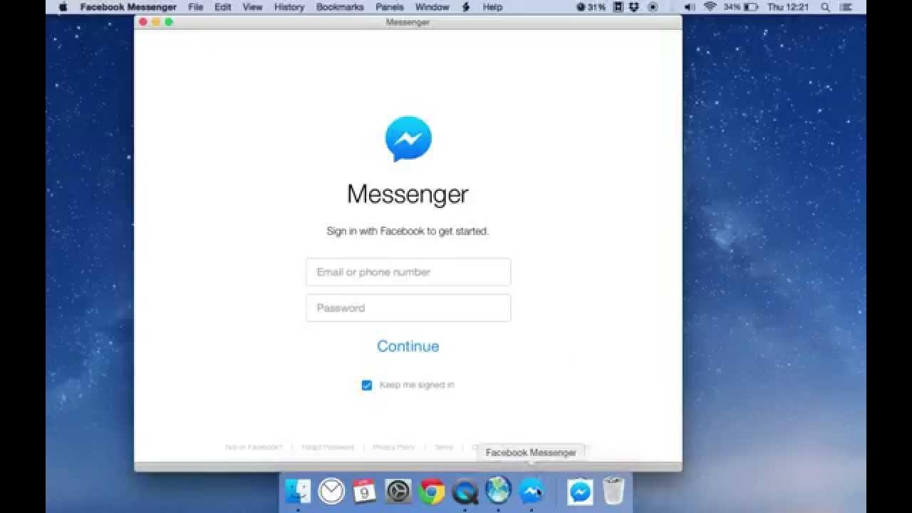 line messenger for mac os x