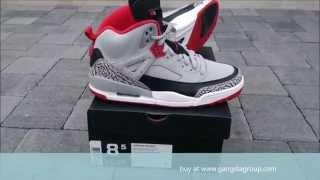 super popular fe98a 1e9dc Air Jordan Spizike Wolf Grey Gym Red Black White 315371 003