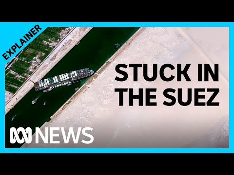Suez Canal blockage causing major disruptions to global supply | ABC News